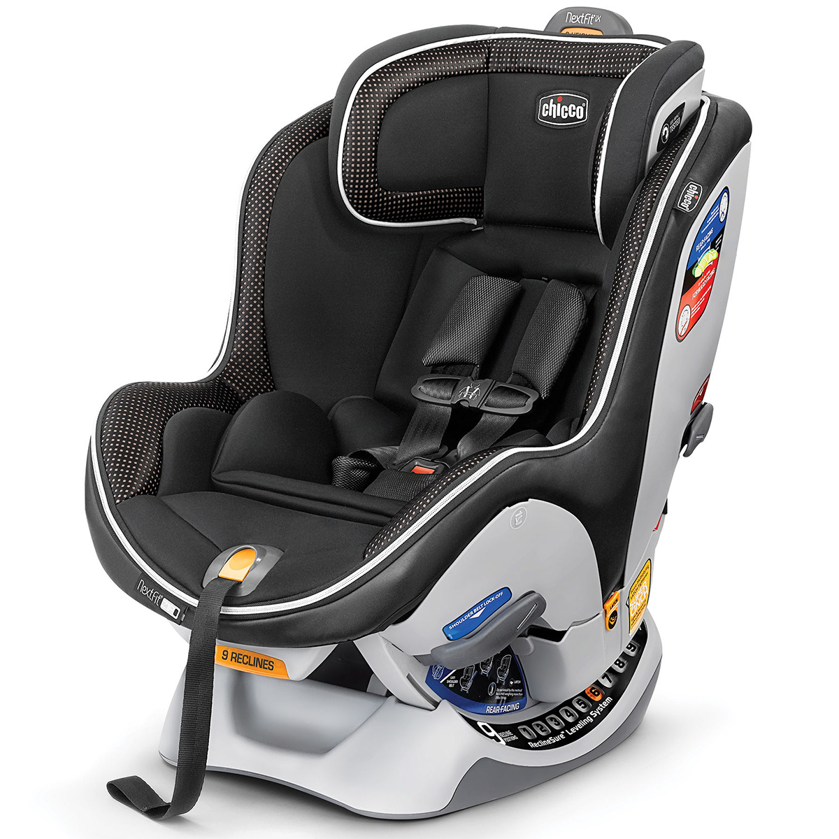 Chicco NextFit IX Zip LUXE Convertible Car Seat 2017