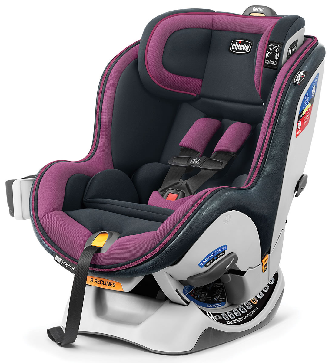 Chicco NextFit Zip Convertible Car Seat - Vivaci