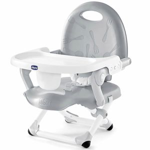 Chicco Pocket Snack Portable Booster Chair - Grey