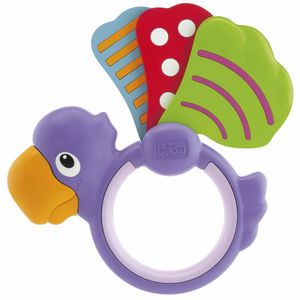 Chicco Polka Dot Parrot Rattle