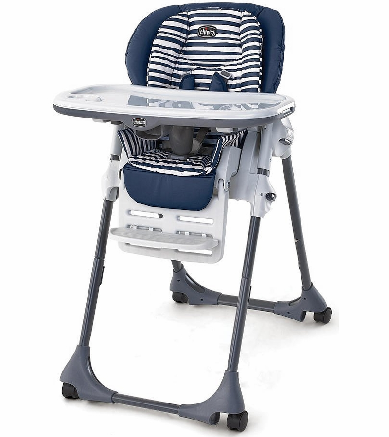 Chicco Polly Double Pad High Chair Equinox