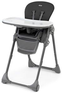 Chicco Polly Highchair - Black