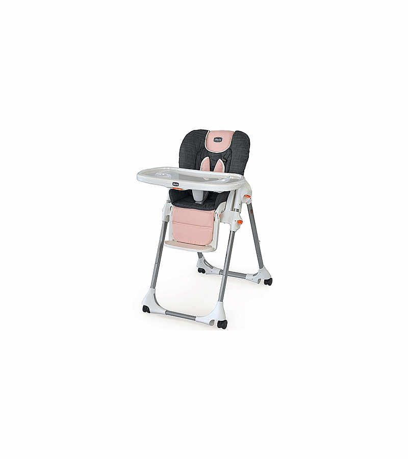 Miraculous Chicco Polly Highchair Double Pad Fabric Bella Pink Pabps2019 Chair Design Images Pabps2019Com