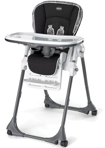 Chicco Polly High Chair - Rainfall