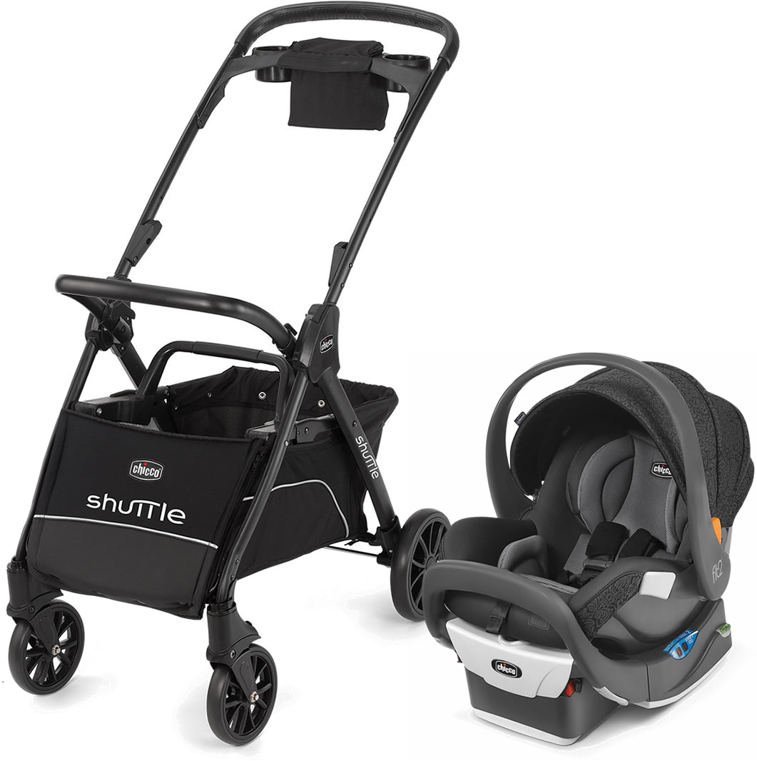 Chicco Shuttle Caddy + Fit2 Rear-Facing Infant & Toddler ...