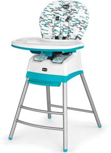 Chicco Stack 3 in 1 Highchair - Aqua