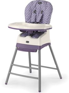 Chicco Stack 3-in-1 Highchair - Mulberry