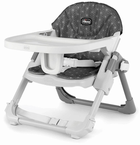 Chicco Take-A-Seat 3-in-1 Travel Seat - Grey Star