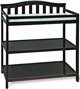 Child Craft Camden Changing Table In Jamocha