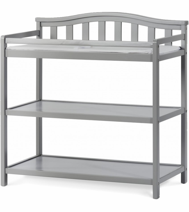 Child Craft Camden Changing Table Cool Gray