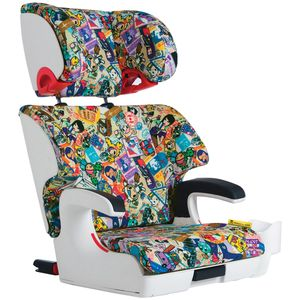 Clek Oobr High Back Belt Positioning Booster Car Seat - Tokidoki Travel