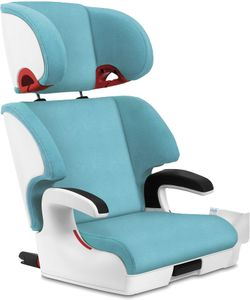 Clek Oobr High Back Belt Positioning Booster Car Seat - Capri / White