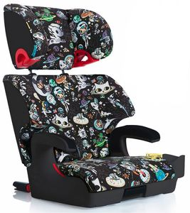 Clek Oobr High Back Belt Positioning Booster Car Seat - Tokidoki Space