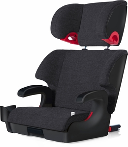 Clek Oobr High Back Belt Positioning Booster Car Seat - Mammoth Wool (FR FREE)