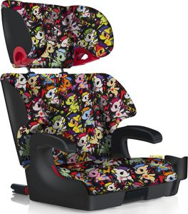 Clek Oobr High Back Belt Positioning Booster Car Seat - Tokidoki Unicorno Disco