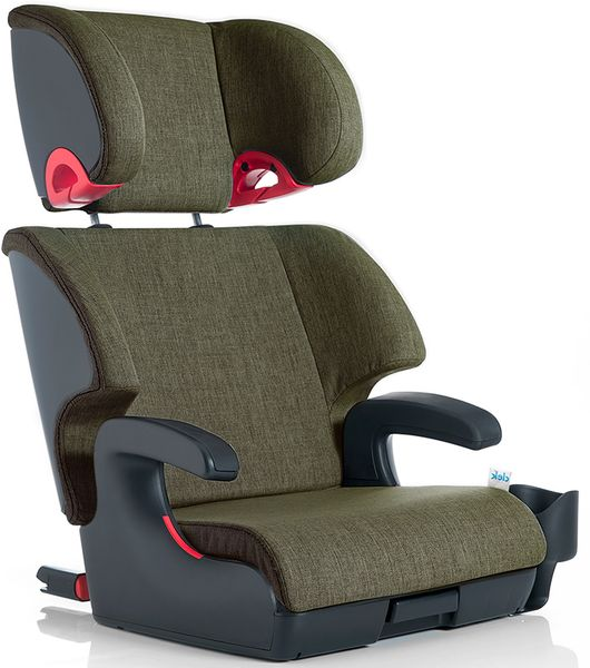 Clek Oobr High Back Belt Positioning Booster Car Seat - Woodlands