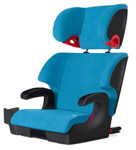 Clek Oobr High Back Belt Positioning Booster Car Seat - Blue Jay (Albee Exclusive)