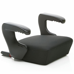 Clek Ozzi Backless Booster Car Seat with Rigid Latch - Licorice