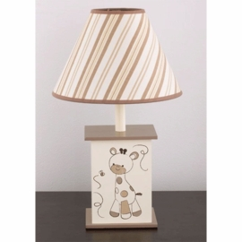 CoCaLo Snickerdoodle Lamp Base & Shade