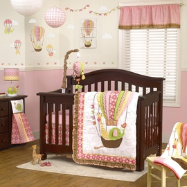 CoCaLo Up & Away 4 Piece Crib Set
