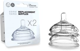 Comotomo Replacement Nipple 2-Pack - Variable Flow