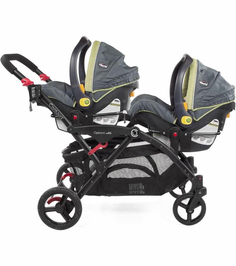 Contours Double Stroller Car Seat Adapter - Chicco
