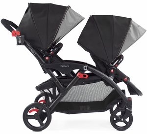 Contours Options Tandem Stroller - Shadow