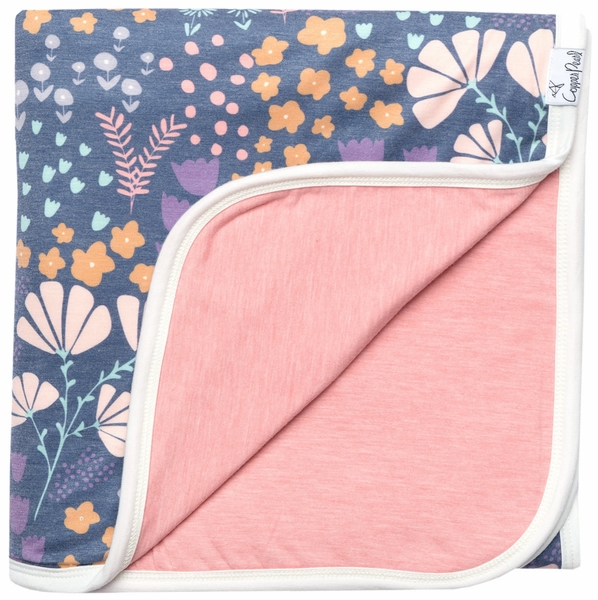 Copper Pearl 3-Layer Stretchy Quilt - Meadow