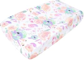 Copper Pearl Changing Pad Cover - Bloom