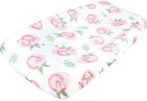 Copper Pearl Changing Pad Cover - Grace