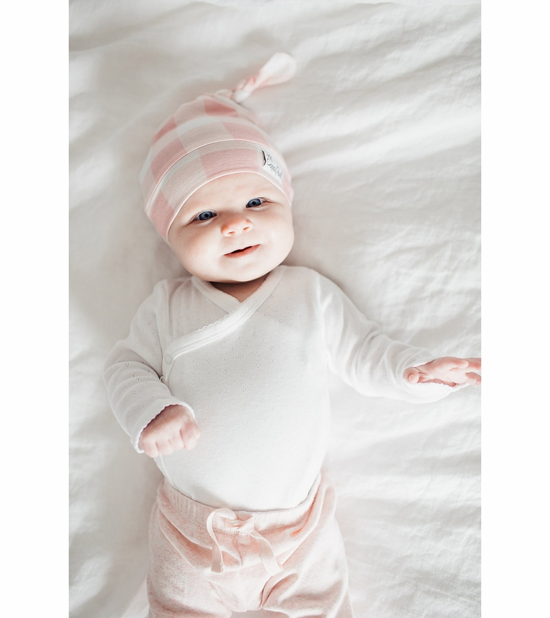 c3e144568 Copper Pearl Newborn Top Knot Hat - London