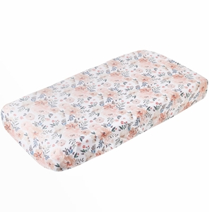 Copper Pearl Premium Knit Diaper Changing Pad Cover - Autumn