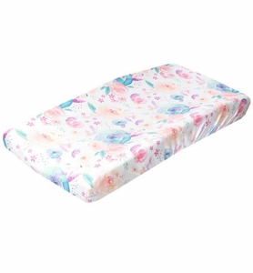 Copper Pearl Premium Knit Diaper Changing Pad Cover - Bloom