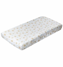 Copper Pearl Premium Knit Diaper Changing Pad Cover - Chip