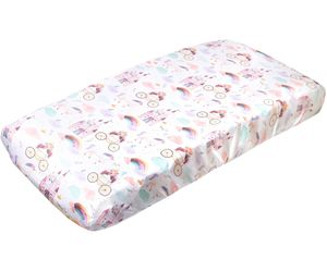 Copper Pearl Premium Knit Diaper Changing Pad Cover - Enchanted