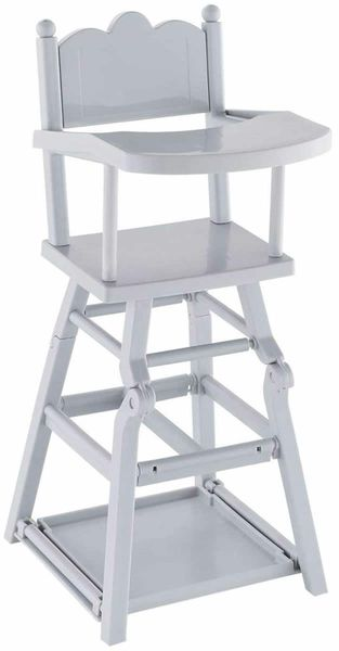 """Corolle High Chair for 14"""" & 17"""" Baby Dolls"""