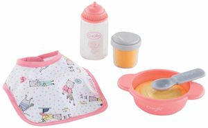 """Corolle Mealtime Set for 12"""" Baby Dolls"""