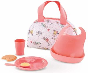 """Corolle Mealtime Set for 14"""" & 17"""" Baby Dolls"""