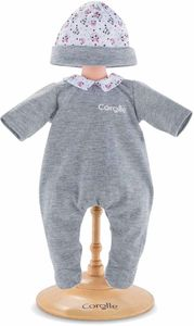"""Corolle Panda Party Pajamas for 14"""" Baby Dolls"""