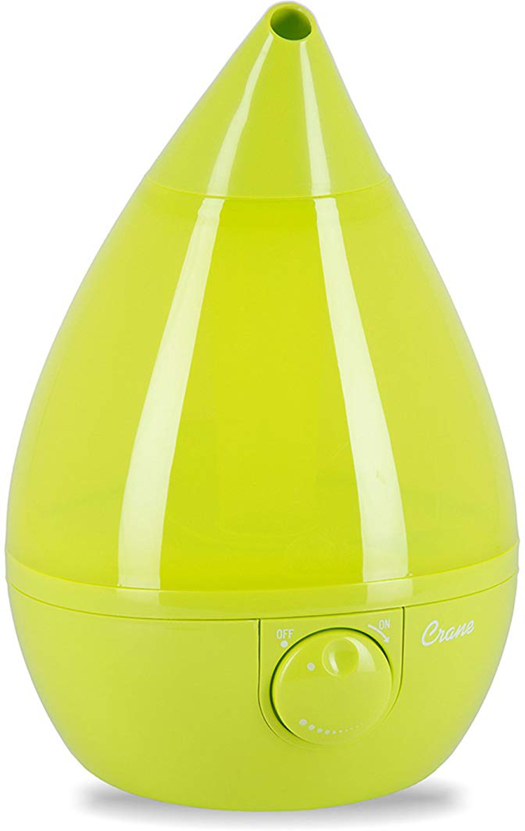 Crane Cool Mist Drop Shape Humidifier Green