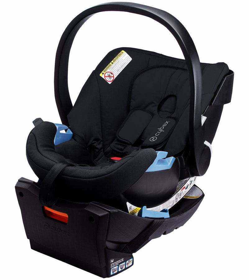 cybex aton infant car seat 2016 pure black. Black Bedroom Furniture Sets. Home Design Ideas