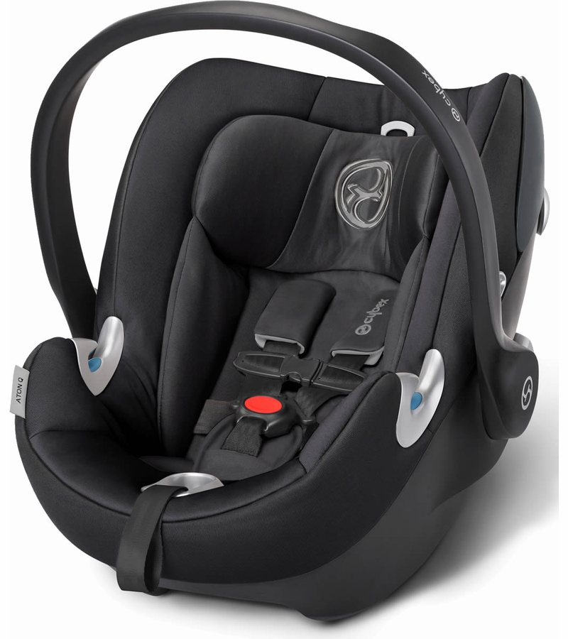 cybex aton q infant car seat 2015 black beauty. Black Bedroom Furniture Sets. Home Design Ideas