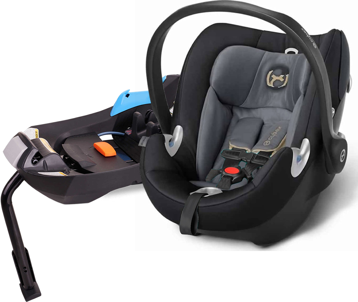 Avocent Aton Q Infant Car Seat - Graphite Black