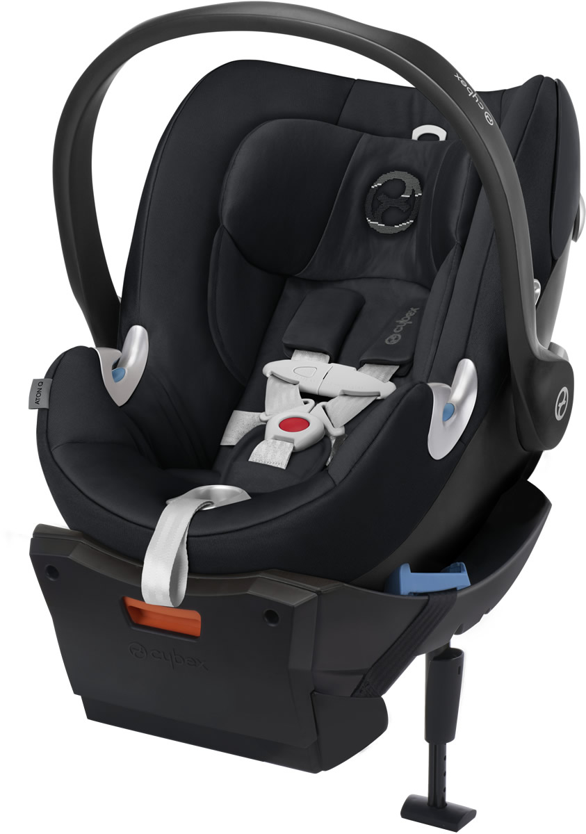 Avocent Aton Q Infant Car Seat - Stardust Black