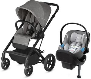 Cybex Balios S + Aton M SensorSafe Travel System - Manhattan Grey