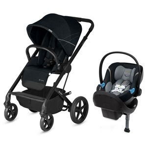 Cybex Balios S Aton M Travel System 2018 Black Pepper Black