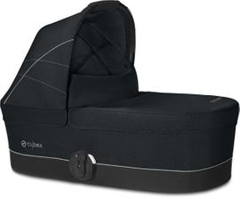 Cybex Carry Cot S For Balios S and Eezy S Twist Strollers - Lavastone Black