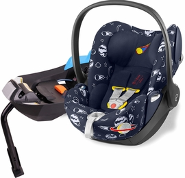 Cybex 2018 Cloud Q Infant Car Seat - Space Rocket