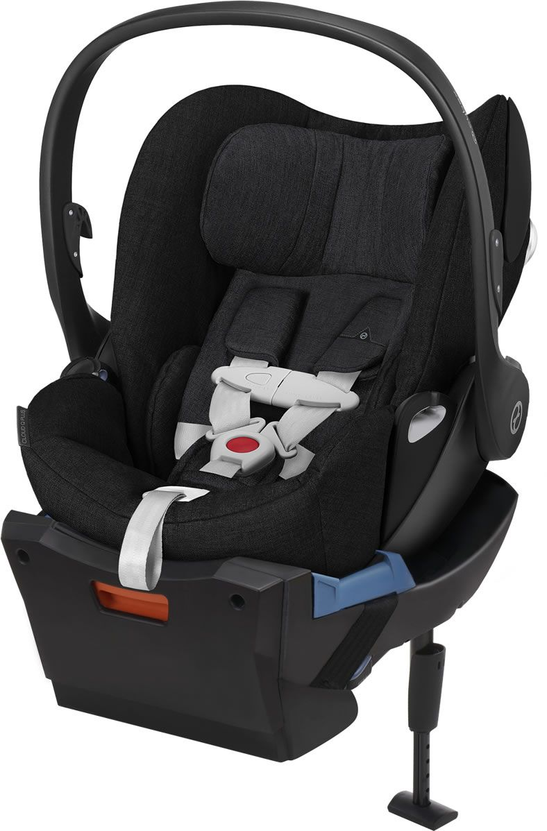 cybex cloud q plus infant car seat stardust black. Black Bedroom Furniture Sets. Home Design Ideas