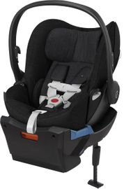 Cybex Cloud Q Plus Infant Car Seat - Stardust Black